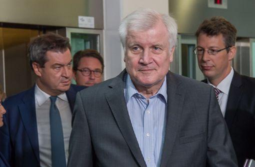 Versöhnliche Töne aus München - CDU und CSU aber auf Kollisionskurs