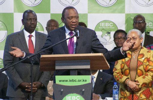 Oberstes Gericht annulliert Präsidentenwahl