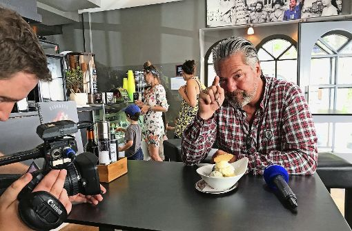 Frank Oehler testet Stuttgarts eiskalte Ecken
