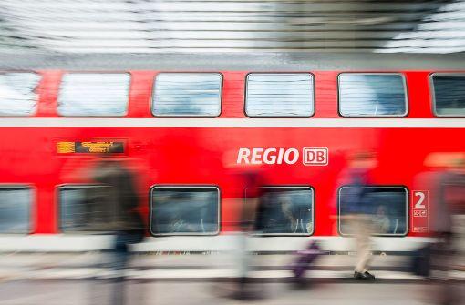 44 Regionalzüge fallen am Wochenende aus