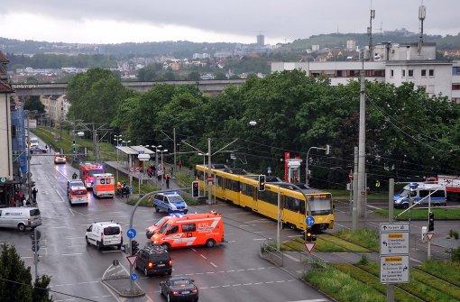 Stuttgart bad cannstatt 40 j hriger von stadtbahn erfasst for Divan 2 bad cannstatt