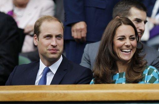 Prinz William und Herzogin Kate Foto: dpa