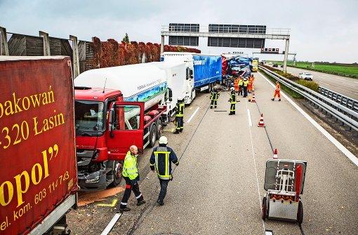Unfall mit Gefahrgut-Transporter