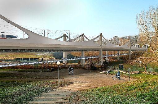 Beim Brückenschlag will die Bahn pünktlich sein