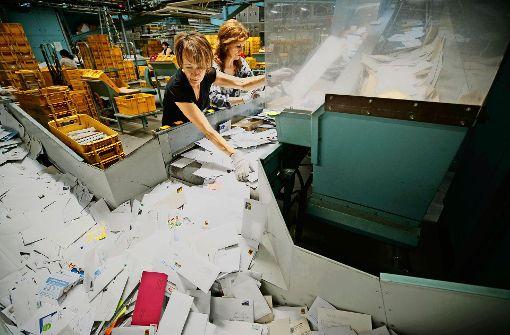 In Waiblingen geht die Post ab