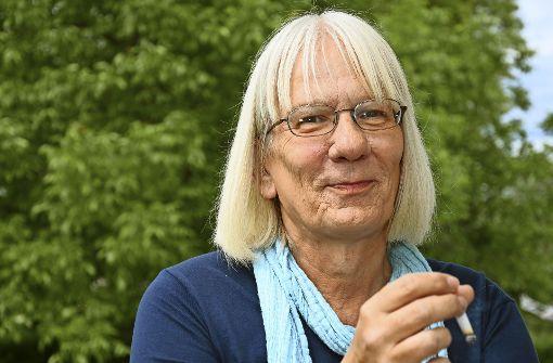 Dankwarth als Iris im Sommer vergangenen Jahres Foto: Elsbeth Föger