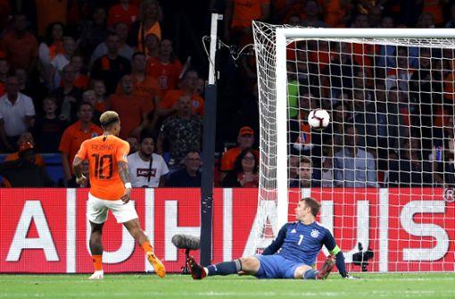 Deutschland droht Abstieg nach Oranje-Pleite