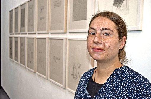 Johanna Hutter träumt davon, von ihrer Kunst leben zu können. Foto: Uli Meyer Foto: