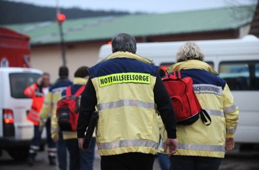 Ein Gasofen hat die Brandkatastrophe mit 14 Toten in einer Behindertenwerkstatt in Titisee-Neustadt verursacht. Es sei unkontrolliert Gas ausgetreten und verpufft, teilte Staatsanwalt Peter Häberle mit. Foto: dpa