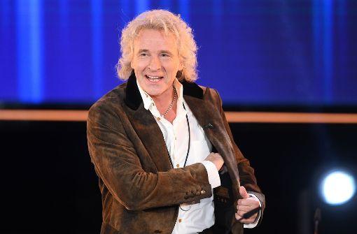 Einer der Laudatoren beim diesjährigen Bayerischen Fernsehpreis: Thomas Gottschalk. Foto: Getty Images Europe