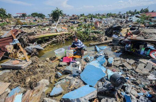 Mehr als 1550 Tote in Indonesien