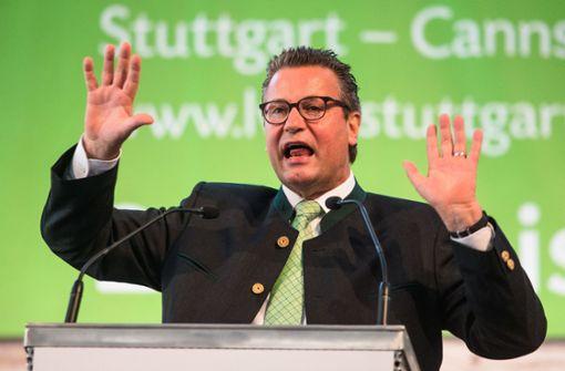 Grüne schützen Hauk vor Kritik der Bio-Bauern