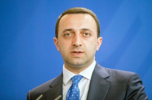 Regierungschef Garibaschwili tritt zurück