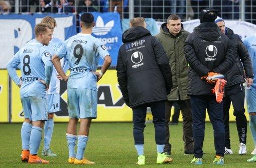Bei den Stuttgarter Kickers gibt es aktuell große Verletzungsprobleme. Foto: Pressefoto Baumann