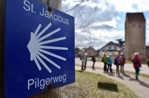 Auf der CMT können sich die Besucher über Pilger-Reisen informieren. Foto: dpa-Zentralbild