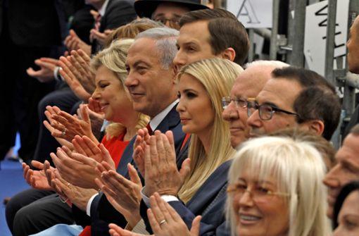 USA eröffnen Botschaft in Jerusalem