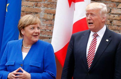Deutschland: Trump legt nach und wiederholt Anschuldigungen an Deutschland