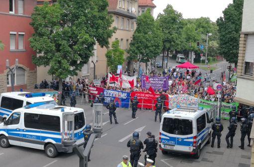 In Stuttgart-Feuerbach kehrt wieder Ruhe ein