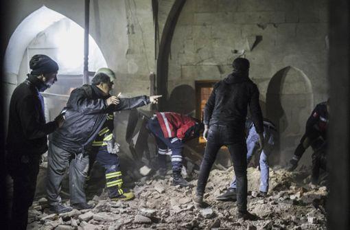 Toter durch Raketenbeschuss in der Türkei