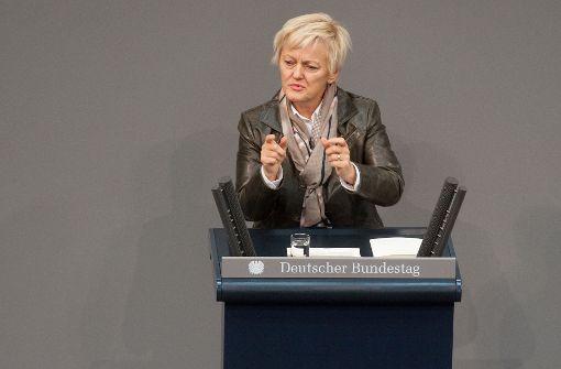 """Die Grünen-Politikerin Renate Künast hat ein Buch über """"Hatespeech"""" in den sozialen Netzwerken geschrieben. Foto: dpa"""