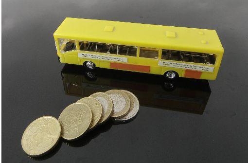 Mehr Geld für Busfahrer im privaten Gewerbe