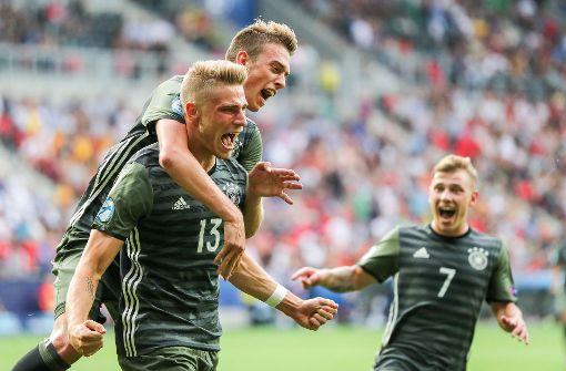 Deutsche U21 kämpft sich ins EM-Finale