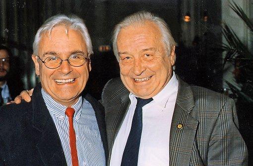 Die Brüder Volker (links) und Armin Lang Foto: Proki