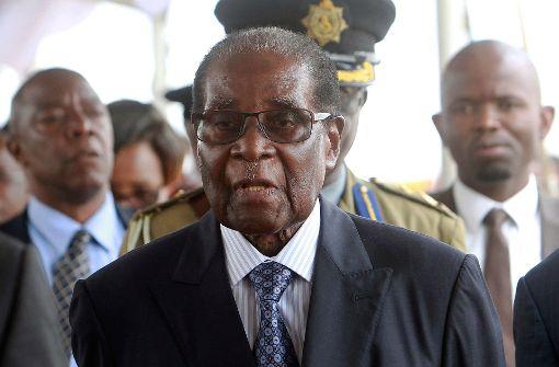Regierungspartei setzt Mugabe als Parteichef ab