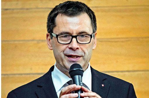 Uwe Hardt ist seit zwei Jahren Vorstand des Caritasverbandes für Stuttgart. Foto: Lichtgut/Achim Zweygarth