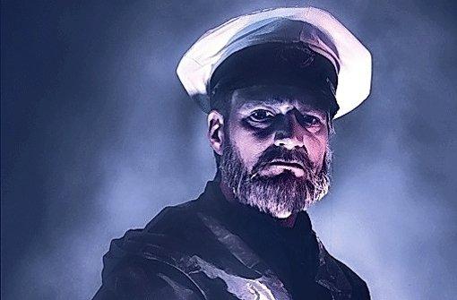 """Hauptrolle in """"Das Boot"""": Ralf Stech spielt den Kapitän Foto: Schauspielbühnen"""