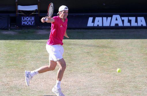 Haas verzichtet nach Sieg gegen Federer auf Doppel
