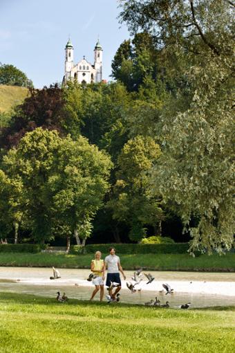 Neue Ernährungsideen und Bewegung an der frischen Luft - das Wohlfühlprogramm aus Bad Tölz.  Foto: Referat für Stadtmarketing, Tourismus- und Wirtschaftsförderung Bad Tölz