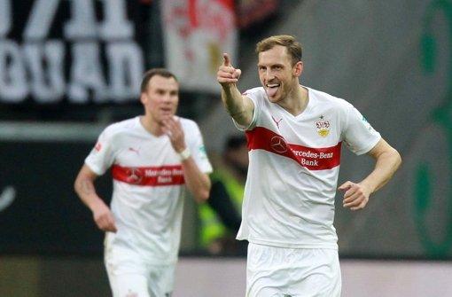 Georg Niedermeier hat wieder Grund zur Freude beim VfB Stuttgart. Foto: dpa
