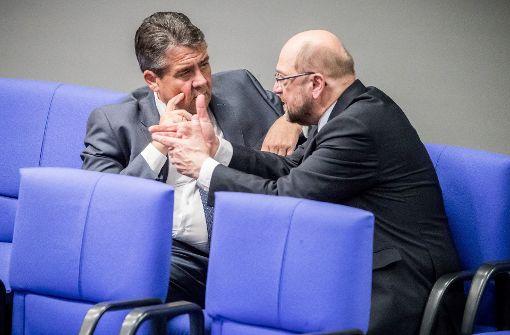 SPD denkt doch über  große Koalition nach