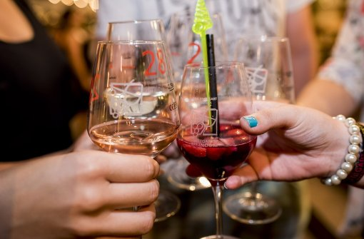 Bei über 500 Weinen aus Baden und Württemberg findet jeder Besucher einen Wein, der zu ihm passt. Foto: 7aktuell.de/Eyb