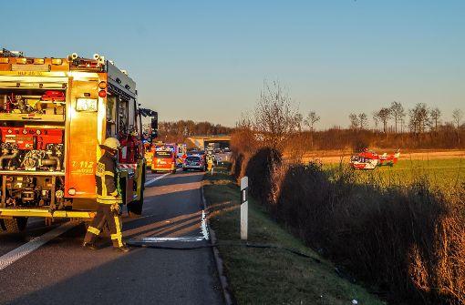 Der Fahrer des Opels hatte offensichtlich die Kontrolle über den Wagen verloren.  Foto: SDMG