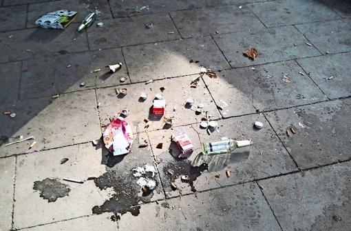 Sind Jugendliche für den vielen Müll verantwortlich?