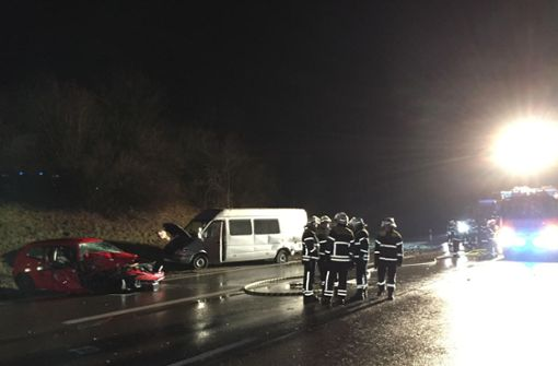 Größerer Unfall – Vollsperrung bei Esslingen/Neuhausen