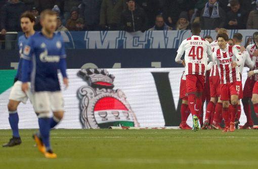 Der Fc Schalke  Kommt Gegen Den  Fc Koln Nicht Uber Ein