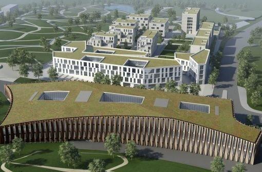 so soll das Stadtteilzentrum Forum K auf dem Killesberg aussehen, wenn es fertig ist Foto: Fürst Developments