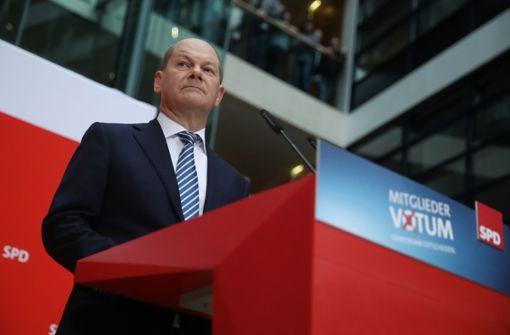 Scholz: Drei weibliche und drei männliche Minister