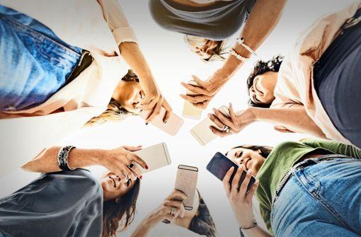 """""""Das Smartphone bereichert die Gespräche"""""""