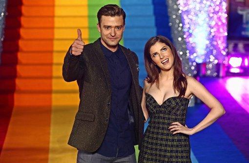 """Justin Timberlake zum Start von """"Trolls"""": """"Niemand ist immer ..."""