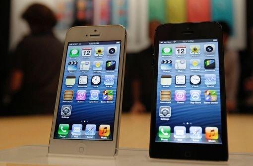 Das iPhone 5 und seine Konkurrenten