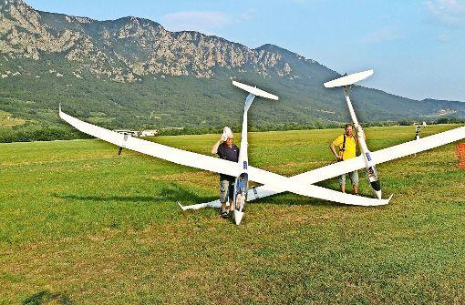 Piloten aus aller Welt auf dem Nortel