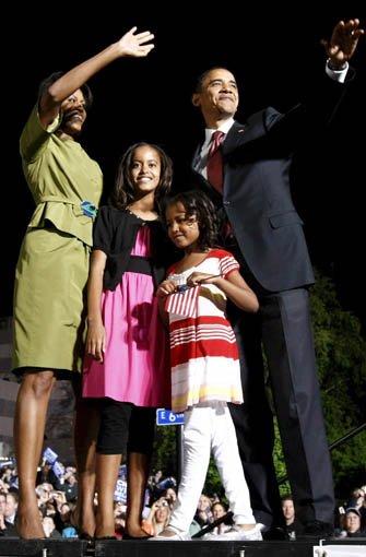 malia und sasha obama kinder seid ihr gro geworden panorama stuttgarter nachrichten. Black Bedroom Furniture Sets. Home Design Ideas