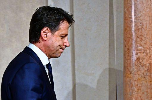 Italien versinkt im Chaos