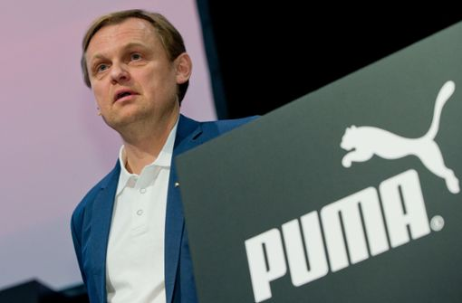 Puma-Chef Björn Gulden verteidigt Super-Dividende. Foto: dpa