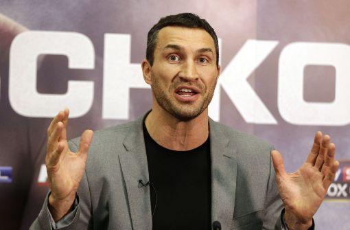 Wladimir Klitschko beendet seine Box-Karriere