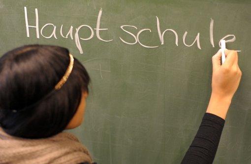 Hauptschulen gehen die Schüler aus
